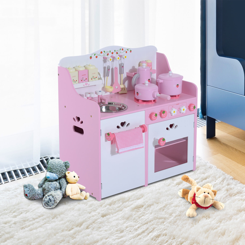 Kinderküche Spielküche Kinderspielküche Spielzeugküche Spielzeug mit Zubehör