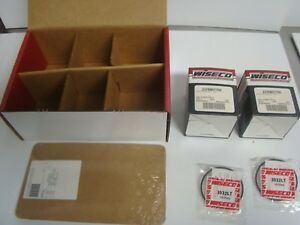 Ski-Doo-Snowmobile-Pro-Lite-580-617-cc-Wiseco-Complete-Piston-Kit-Part-SK1221