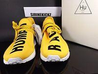 Pharrell Williams Adidas NMD Human Race Yellow BB0619 1st Release