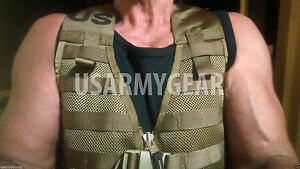 New United States Marine Corps Combat LOAD CARRIER molle marine gilet FLC Coyote Brown Marine Armée Gi