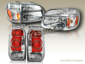 Image Is Loading 98 99 00 01 Ford Explorer Headlights Corner
