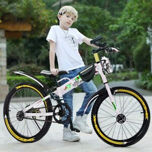 Youth-Mountain-20in-BMX-Style-Frame-Kids-Cycling-Bikes-New-With-Water-Bottle-Bag