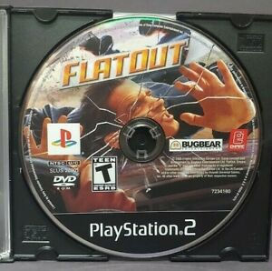 Flatout - Sony Playstation 2 PS2 Game Lot Tested / Working