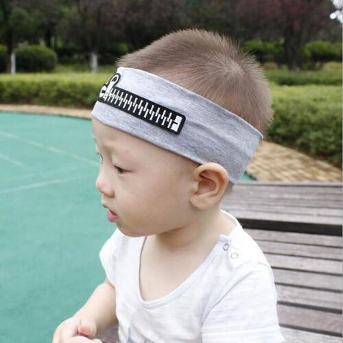 Newborn Kid Girl Boy Baby Infant Zipper Headband Hair Band Headwear Wrap shan