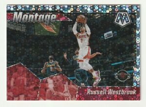 2019-20-Panini-Mosaic-Prizm-Silver-Disco-Fast-Break-Motage-Russell-Westbrook-SP