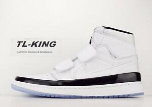 477d011827a9 Nike Air Jordan 1 Retro High Double Strap White Dark Concord Black ...
