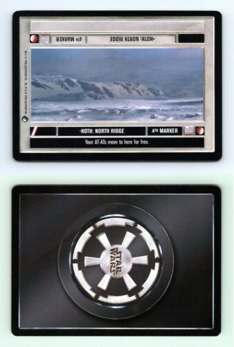 North Ridge Star Wars Hoth Limited 1996 DS Common CCG Card Hoth