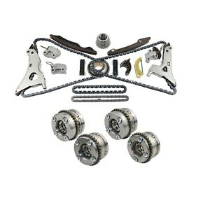 Details about 4x Camshaft Adjusters + Timing Chain kit Fits Mercedes W222  W166 M276 E350 C350