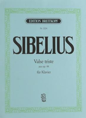 Valse Triste Op. 44/1 - Arrangements Op. 44/1 Sibelius, Jean Piano 9790004160 Een Plastic Behuizing Is Gecompartimenteerd Voor Veilige Opslag