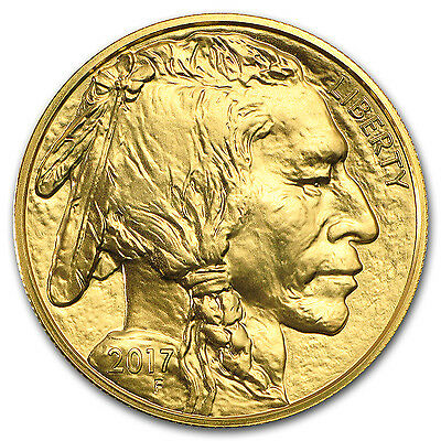 2017 1 oz Gold American Buffalo Coin Brilliant Uncirculated BU