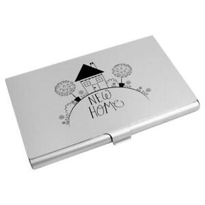 'New Home' Business Card Holder / Credit Card Wallet (CH00003255)