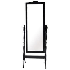 Full Length Dressing Mirror Swivel Wood Cheval Floor