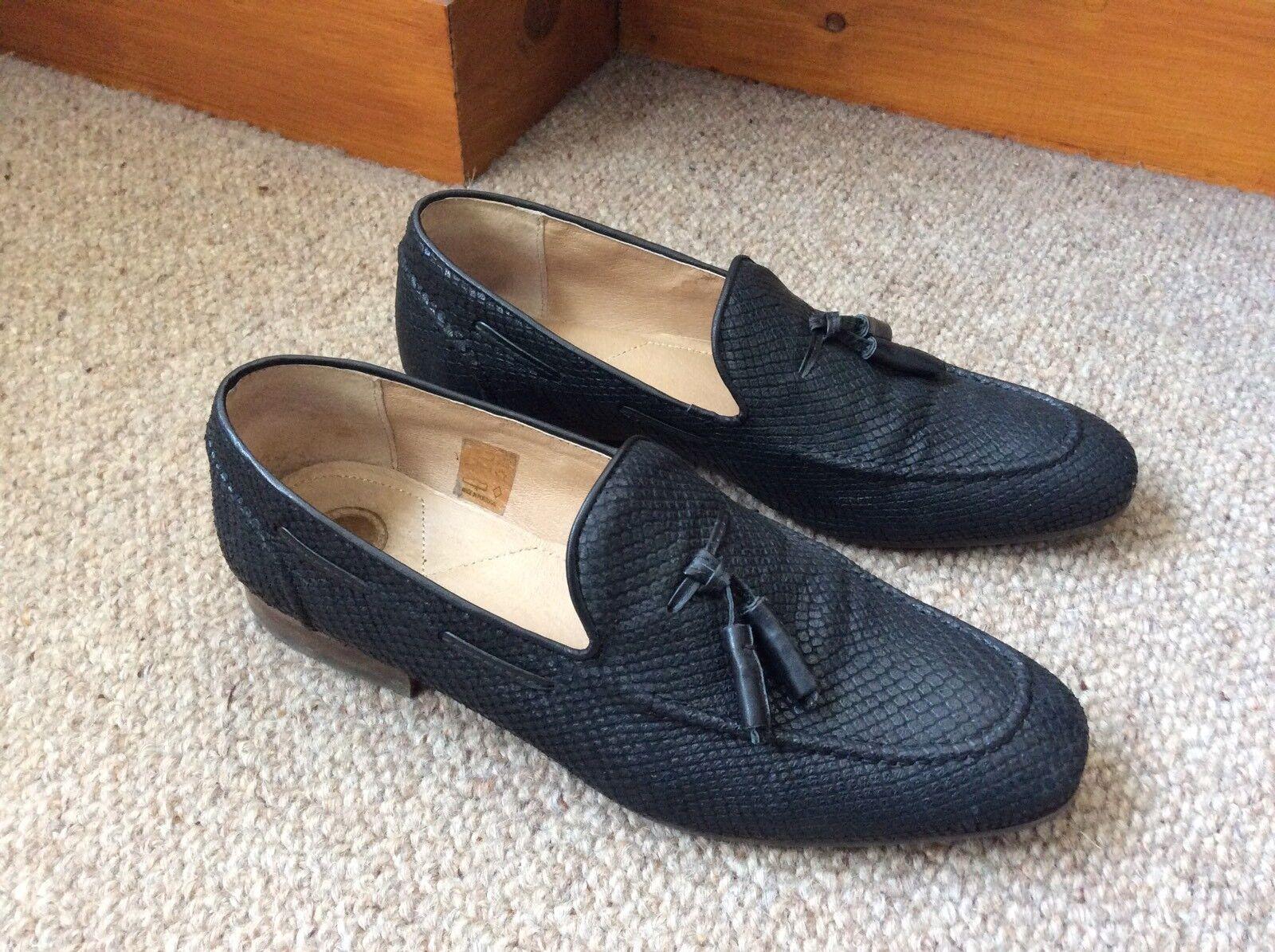 Da scarpe Uomo Nera Hudson mocassini scarpe Da taglia 44 EU RRP fdd058