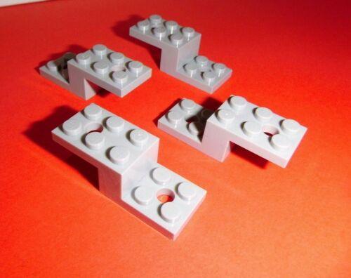 Lego 11215 in hellgrau aus 10252 60141 10248 10258 60110 4 Winkel 5x2x1 1//3