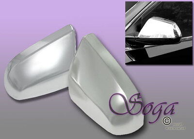 FOR 2010-2016 CADILLAC SRX CHROME SIDE MIRROR COVER COVERS TOP HALF 2015 2014 US