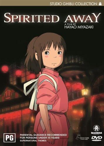 1 of 1 - Spirited Away (DVD, 2003, 2-Disc Set) Like New Region 4