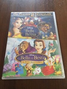 LA-BELLA-Y-LA-BESTIA-EL-MUNDO-MAGICO-DE-BELLA-2-DVD-176-MIN-NEW-SEALED