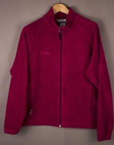 Columbia-Damen-Freizeit-Reissverschluss-Fleece-Pullover-Groesse-XL-ASZ676