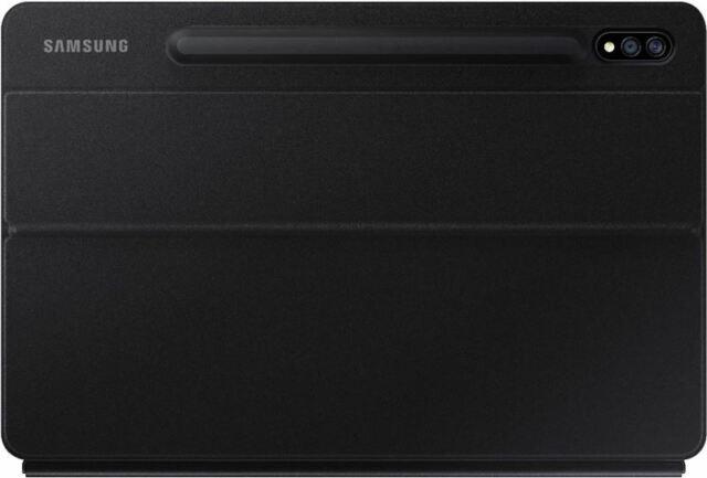 Samsung - Galaxy Tab S7+ Book Cover Keyboard - EF-DT970UBEGUJ - Black