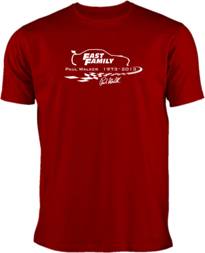 Fast Family Paul Walker T-Shirt  Fast and Furious Tuning