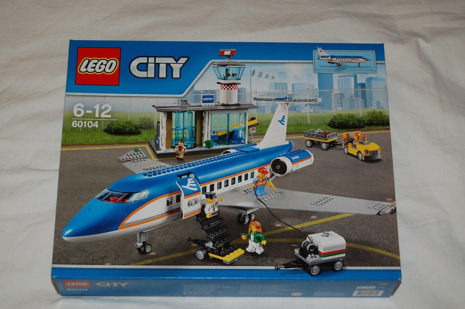 LEGO City 60104 Flughafen Airport NEU  passt zu 60102,60022,60021