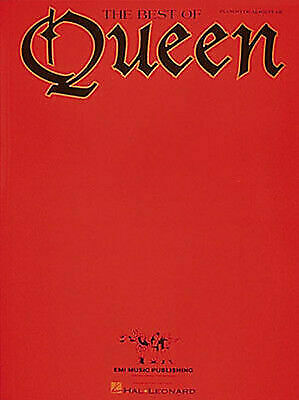 Best of Queen Piano Sheet Music Guitar Chords Lyrics 12 Pop Rock Songs Book  for sale online | eBay