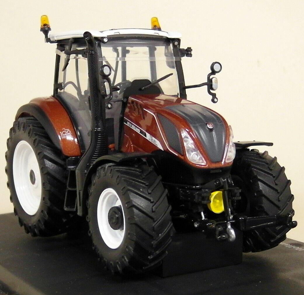 promociones emocionantes Uh 1 32 escala 5362 Nuevo Holland Holland Holland T5.120 Fiat Centenario Diecast Modelo Tractor de Granja  barato