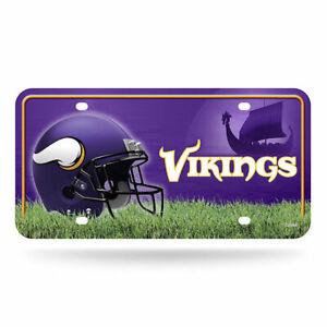 Rico-Industries-Minnesota-Vikings-NFL-Metal-License-Plate-Tag