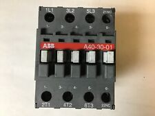 Abb A40 30 01 Contactor With 120 Volt Coil
