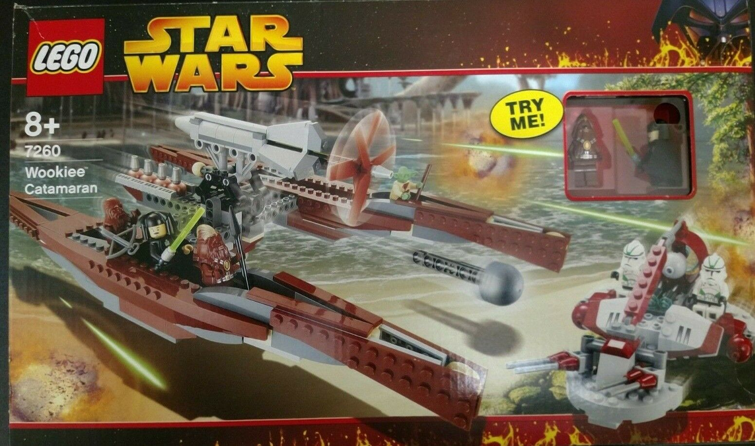 LEGO Star Wars 7260  - Wookie Catamaran Rare RETIRED SET, SEALED NEW very RARE