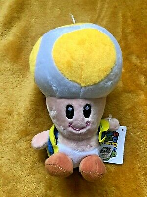 Toad Tracker  20.5 cm Plush Toy Super Mario Bro