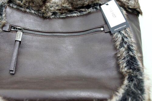 Tote The de de West Nine de Big imitación marrón bolso Reveal bolso cuero piel 65Idqw0