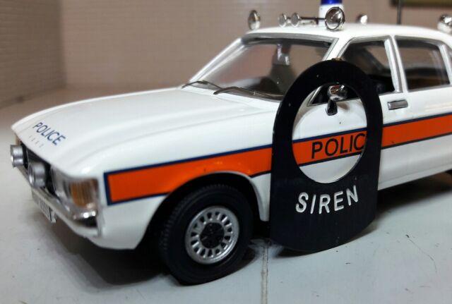 Classic Vintage Police Car Fire Engine Ambulance Siren Lucas Dash Switch Tag Tab