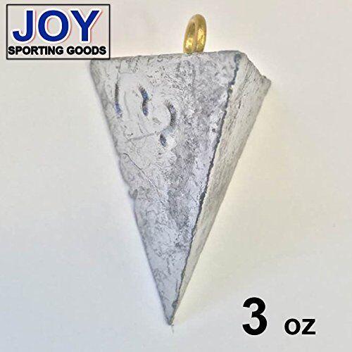 Triangle 3 oz Fishing Sinker, Lead, Weight