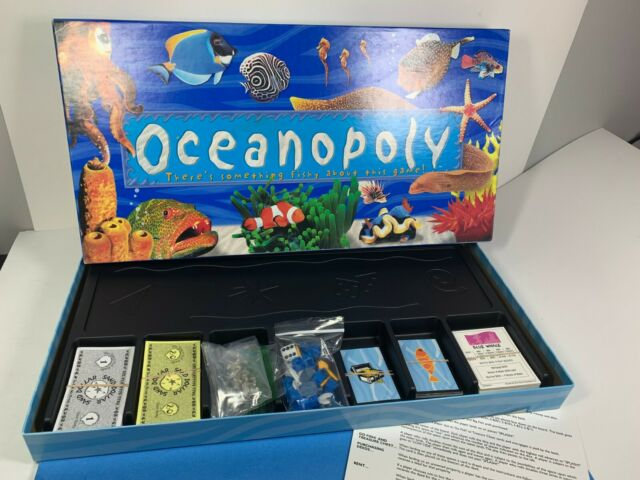 Ocean-Opoly (OceanOpoly) Sea Life Creature Fish Themed Monopoly Board Game