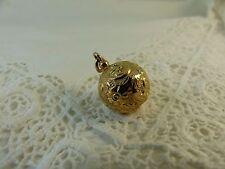 Antiguo Oro Rosa Victoriana 9ct 9 quilates recargado Albertina FOB encanto de la bola