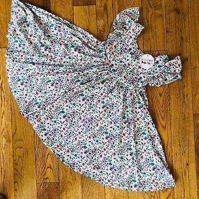 Nwt Dot Dot Smile Twirly Summer Dress Girls Empire Floral Colorful Girls Verkoop Van Kwaliteitsborging