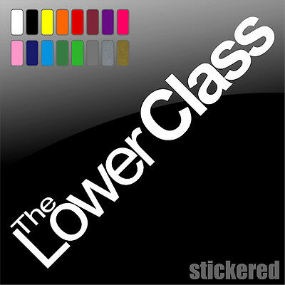 Lowered Class JDM DUB JAP Drift Euro Funny Vinyl Decal Sticker Laptop