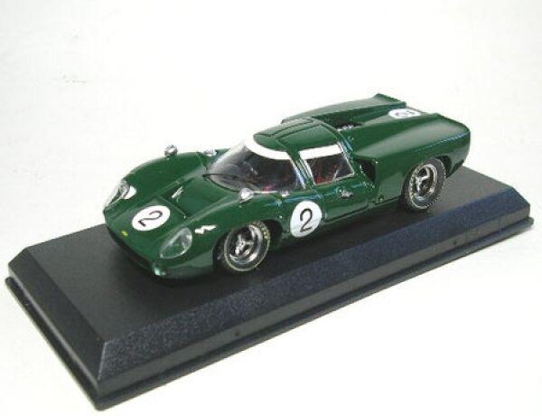 2 Spa 1967 Lola T 70 Coupe No