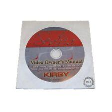 Original Kirby DVD Anleitung G10 Sentria > Deutsch, English, Spanisch, Italienis