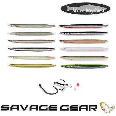 Savage Gear 3D Line Thru Sandeel 12,5cm 19g Sandaal 6 Farben Zubehör 125mm OVP