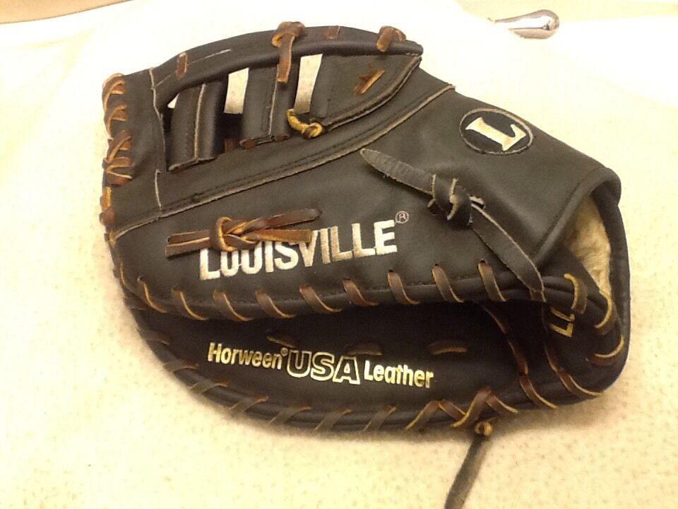 Louisville 12.5  Tpx Horween béisbol Softbol First Base Mitt Left Hand Throw