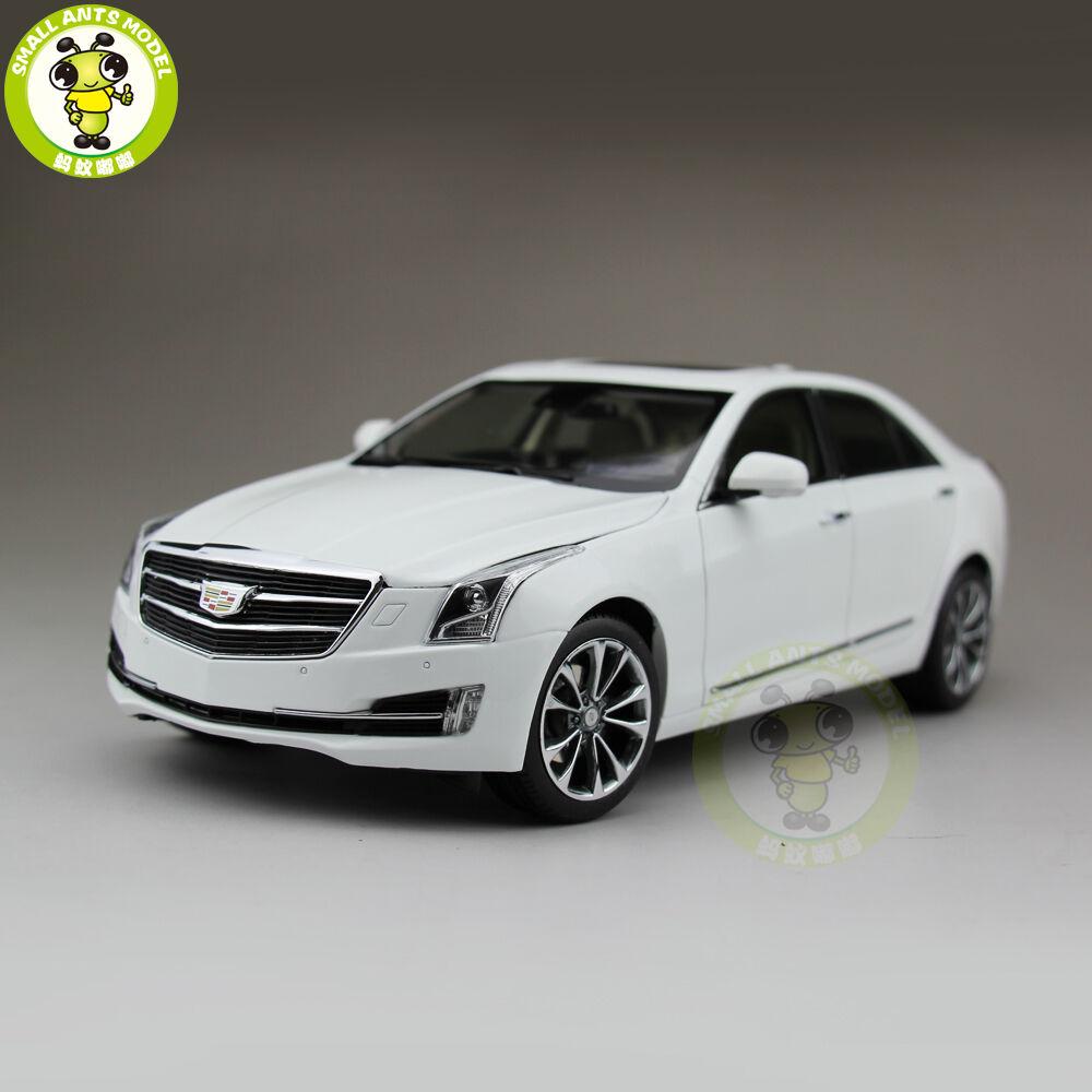 1/18 nos GM Cadillac ATS ATS-L 2018 Diecast Modelo Coche Blanco
