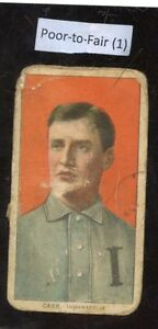 1909-11-T206-Charles-Carr-Indianapolis-Piedmont-Back-Very-Poor-To-Fair-Condition