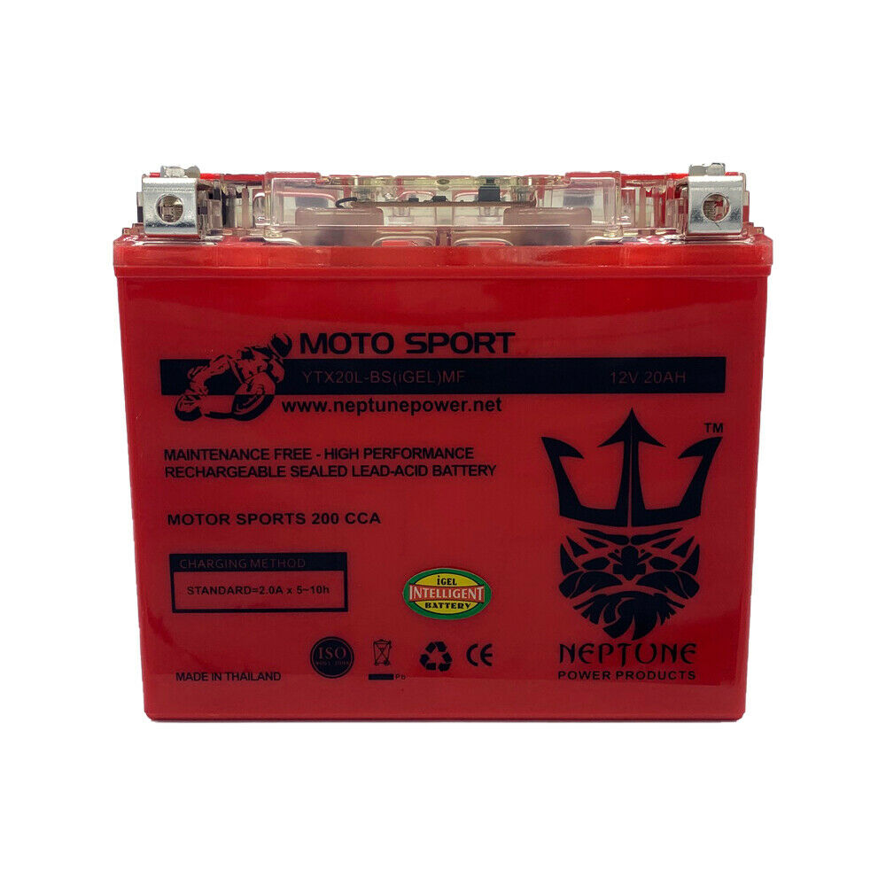 Batterie 12V 18AH YTX20L-BS Gel Nitro 51891 GL 1800 A Goldwing SC47 03-05