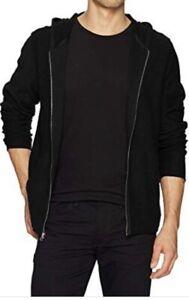 Joe-s-Jeans-Men-s-Sweatshirt-Black-Size-Medium