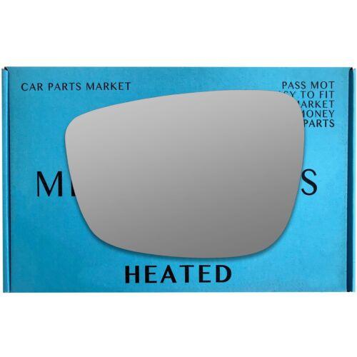 Pour Mazda CX-5 2nd Gen 2017-18 Gauche Côté Passager Aile Miroir Verre électrique