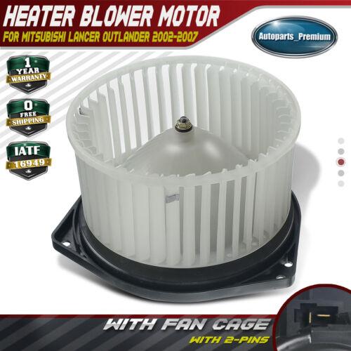 HVAC Blower Motor W// Fan Cage for Mitsubishi Lancer Outlander 2002-2007 700038