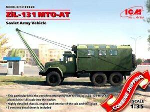 ICM 35520 ZiL-131 MTO-AT, Soviet Recovery Truck, Army Vehicle ... on