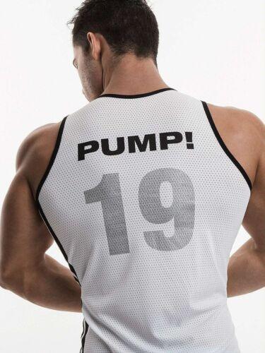 PUMP 14010 serbatoio Mesh Rete Shirt Fitness Muscleshirt Camicia muscolare rete shirt uomo